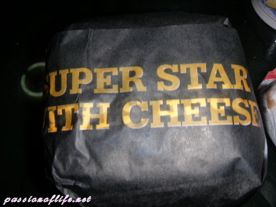superstar with cheese