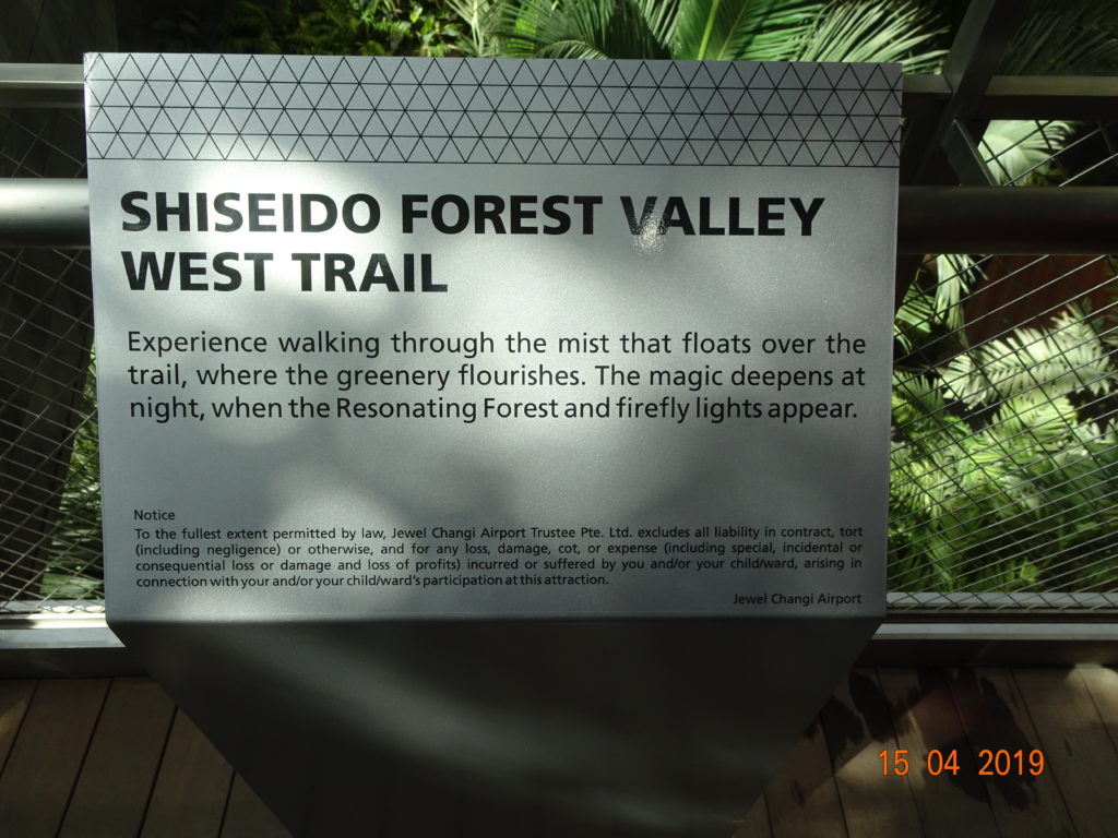 Shiseido Forest Valley West Trail